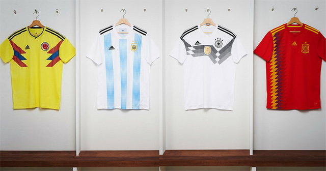 adidas world cup kits complilation