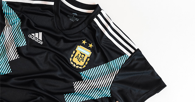 The new Argentina away shirt for 2018/19