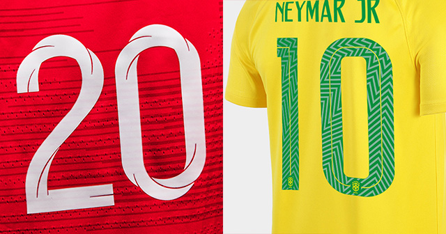 Top 5 Fonts at the World Cup