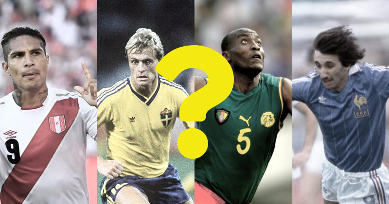 Quiz - Which World Cup shirt are you?