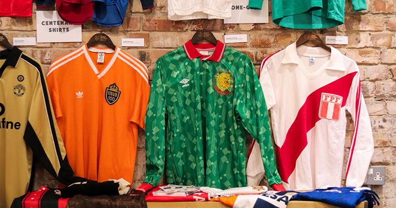 Cameroon's home shirt from the 1991 season