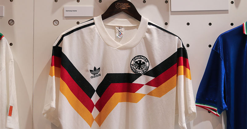Germany's home shirt from the 1990 season