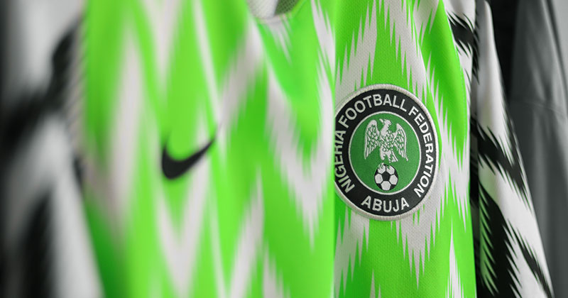 Nigeria's home shirt from the 2018 season