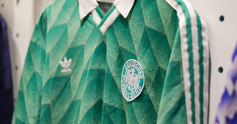 Germany's away shirt from the 1990 season
