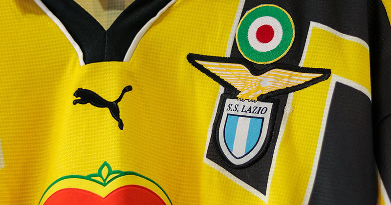 Lazio's cup shirt from the 1998/99 season