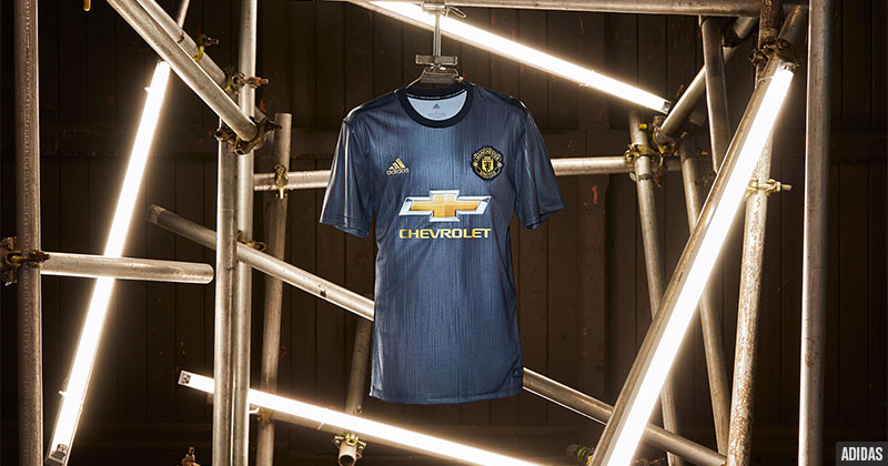 The brand new United third shirt