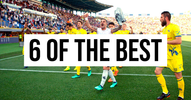 6 of the best shirts in Chievo history