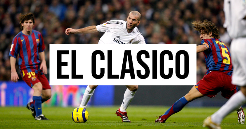 5 of the best kit matchups in El Clasico history