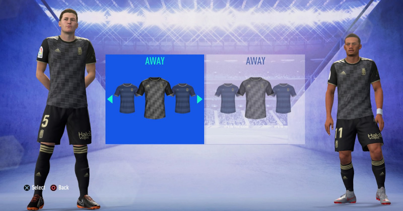 REAL OVIDEO- AWAY KIT