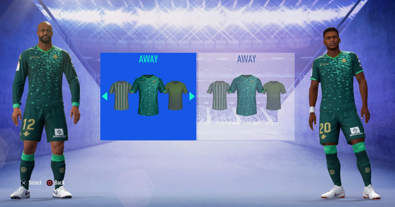 REAL BETIS- THIRD KIT