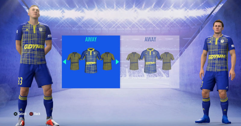 ARKA GDYNIA- AWAY KIT