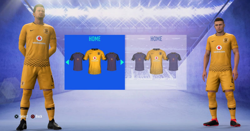 KAIZER CHIEFS- HOME KIT