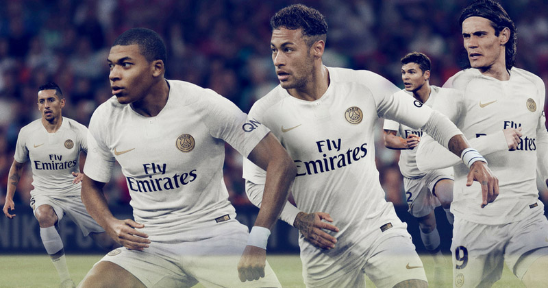 361aa4ec2 Introducing the Nike 2018 19 PSG Away Kit