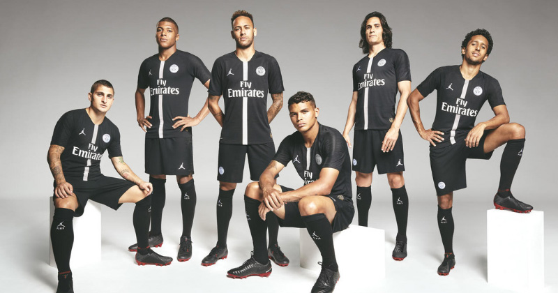 Nike Unleash Jordan PSG Champions League Kits