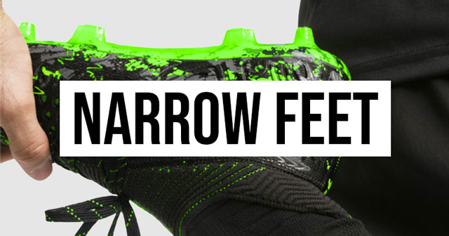 5 great football boots for players with narrow feet