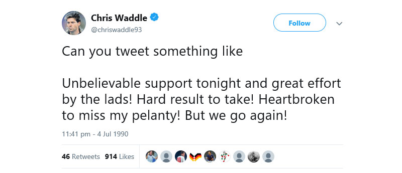 chris waddle twitter