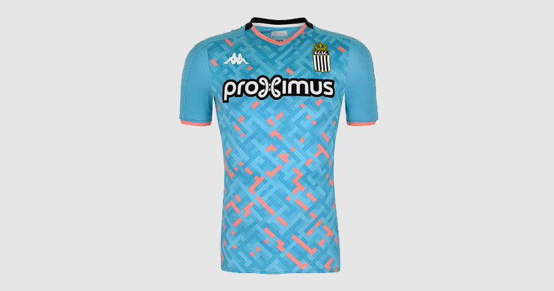 Charleroi 2019 away shirt