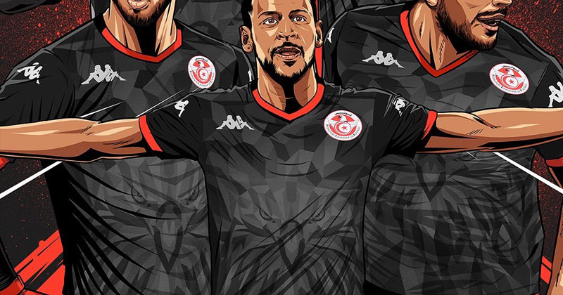 tunisia 2019 third shirt