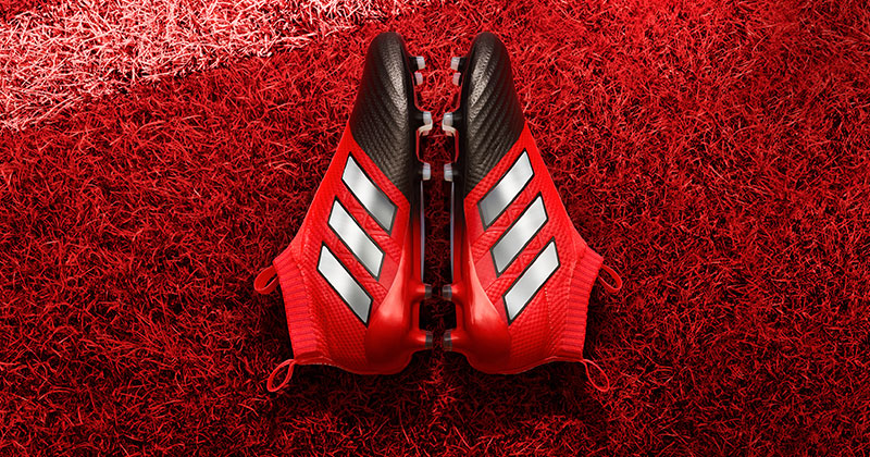 adidas ace red black
