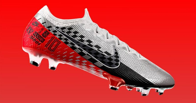 red and white neymar edition nike mercurial boots