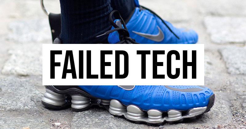 Failed Trainer Cushioning Tech