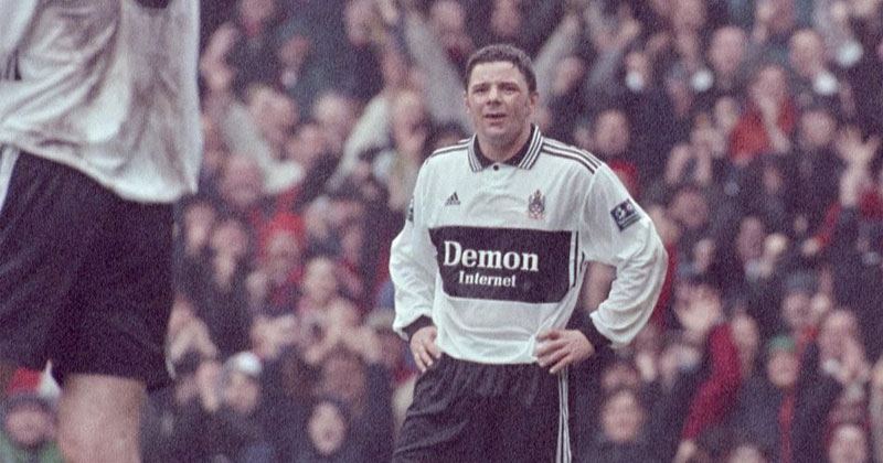 Fulham late 90s shirt