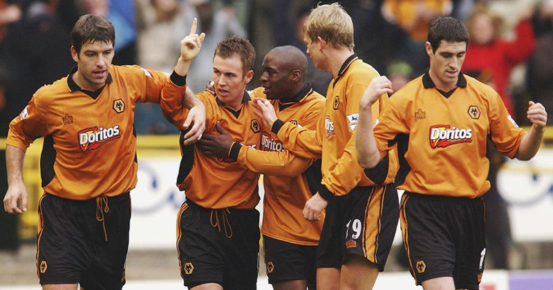 Wolves early 00s shirt