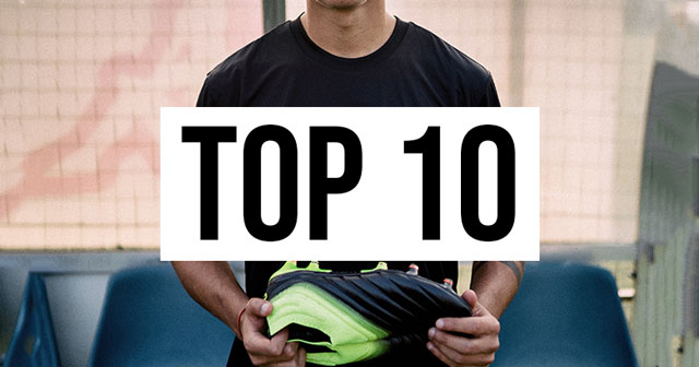 Top 10 Football Boots by Player
