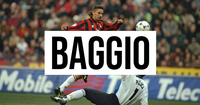 A Career in Shirts: Roberto Baggio