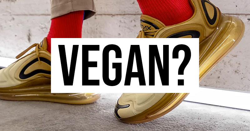 Are Nike trainers Vegan? - A brief