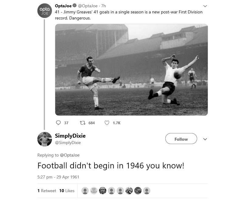 jimmy greaves twitter