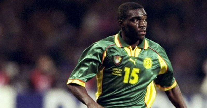 cameroon 1998 home shirt
