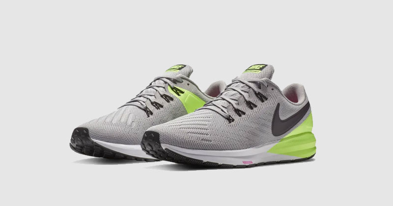nike zoom structure running trainers