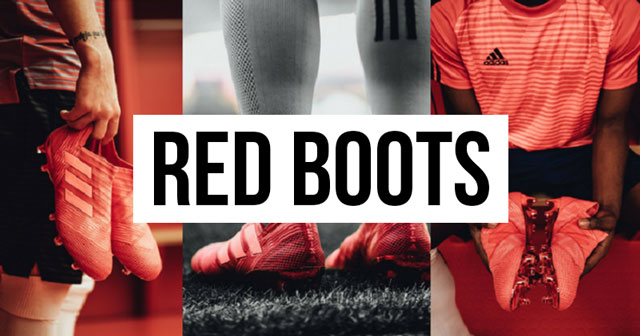 The Best Red Football Boots of All Time