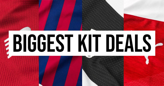 The World's Most Lucrative Football Kit Deals