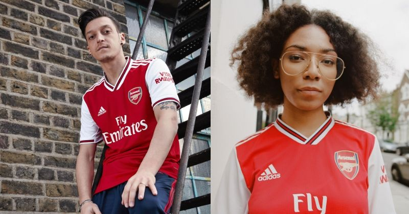 arsenal 2019-20 home shirt