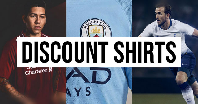 Discount Premier League football shirts - All the best deals at the moment