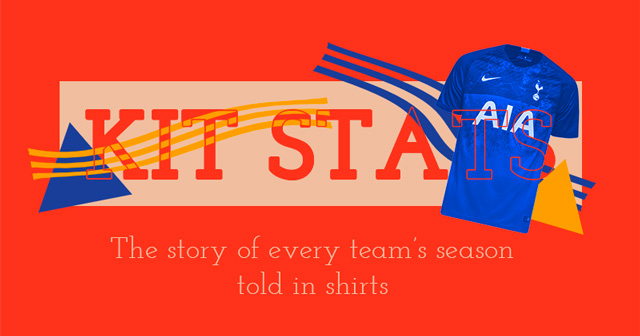 Kit stats - The story of every team's season told in shirts