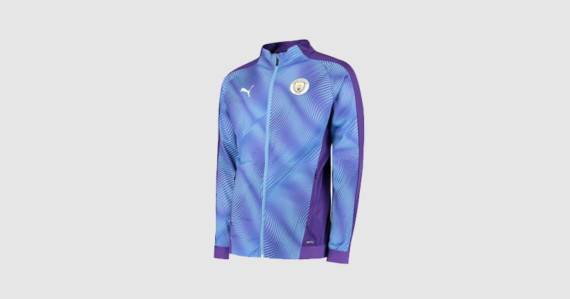 light blue manchester city training jacket