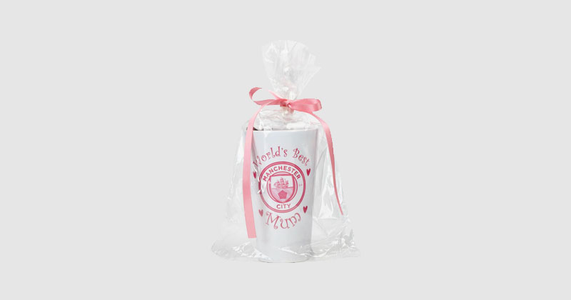 man city hot chocolate gift set with mug