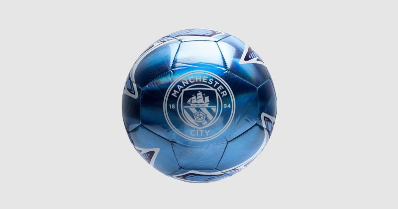 blue man city laser training football