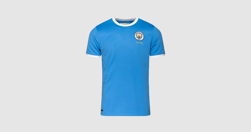 man city 125 years anniversary shirt