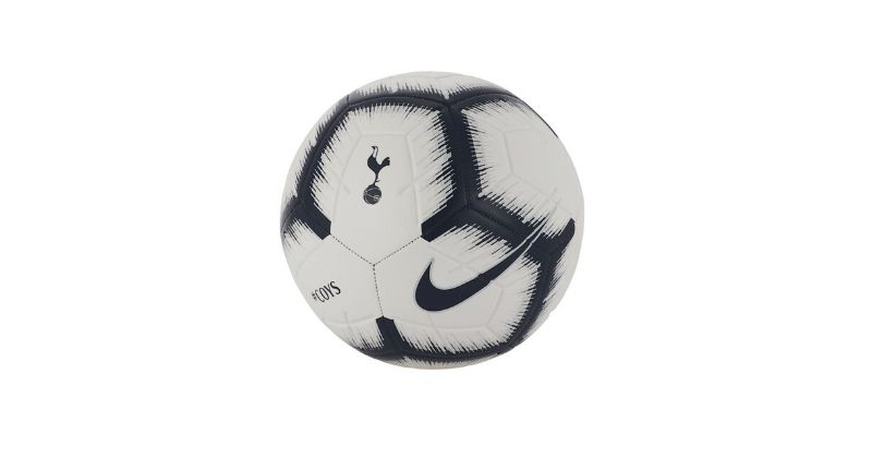white nike football featuring spurs club crest