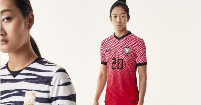 dazzling red south korea 2020 home shirt