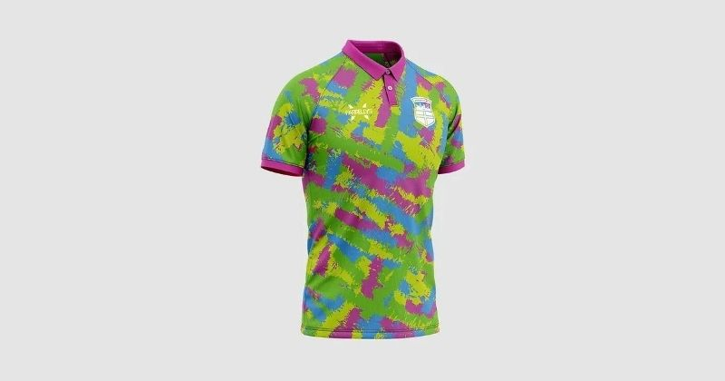 colourful durham city 2020 goalkeeper kit