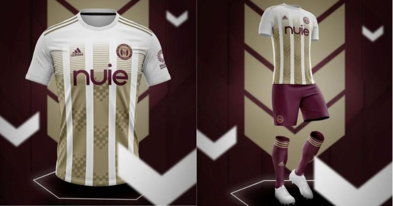 purple and gold halifax town third kit for 2020-21