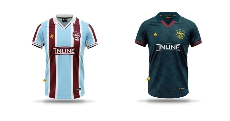 malvern town 2020-21 home and away kits