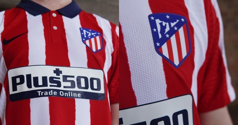 atletico madrid 2020/21 home kit