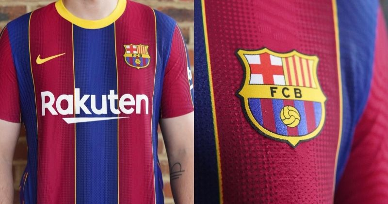 barcelona 2020/21 home kit