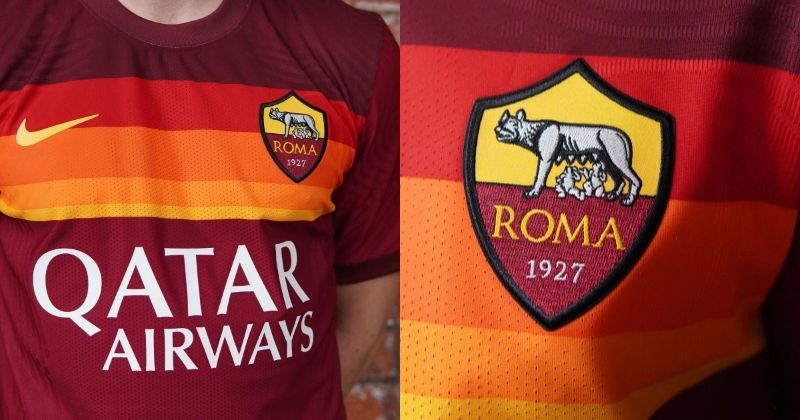 as roma 2020/21 home kit